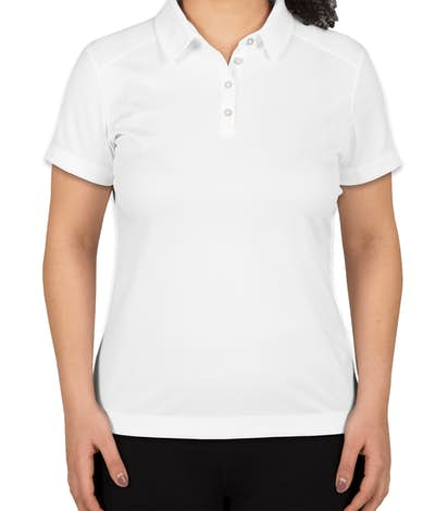 Nike Golf Women's Pebble Textured Performance Polo - White
