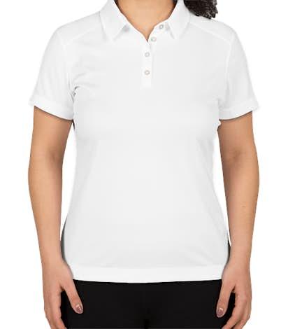 Nike Golf Women's Pebble Textured Performance Polo - White