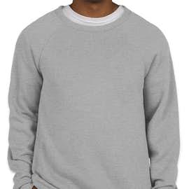 Bella + Canvas Ultra Soft Crewneck Sweatshirt - Color: Athletic Heather