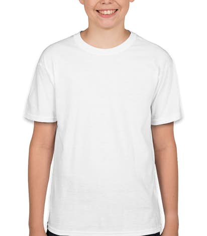 Hanes Youth X-Temp T-shirt - White