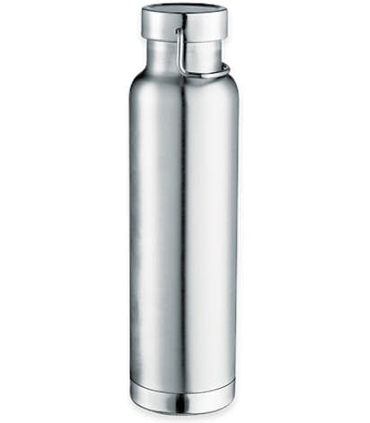 22 oz. Thor Copper Vacuum Insulated Water Bottle - Silver