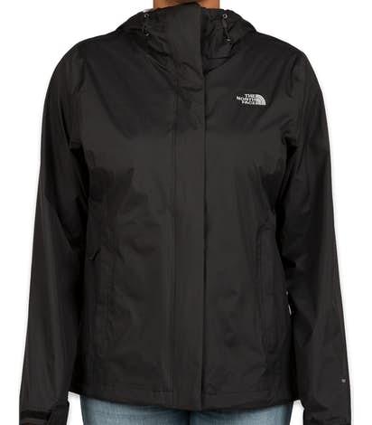 The North Face Women's Waterproof Windbreaker Jacket - Black
