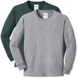 Port & Company Youth Core Cotton Long Sleeve T-shirt
