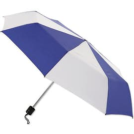 "Arc Budget Multi-Tone Telescopic 42"" Umbrella"