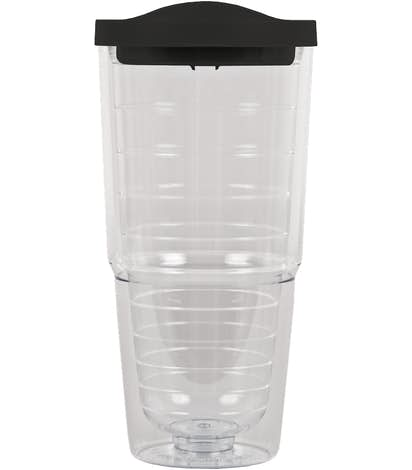 24 oz. Insulated Tumbler - Black / Clear