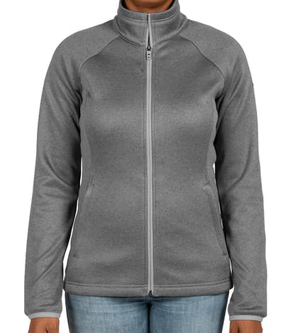 2a6b59dcc0a5 The North Face Women s Canyon Flats Fleece Jacket - Medium Grey Heather