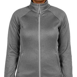 The North Face Women's Canyon Flats Fleece Jacket - Color: Medium Grey Heather