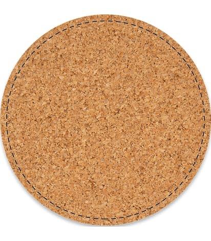 4 in. Circle Cork Coaster (.055 weight) - Natural Cork