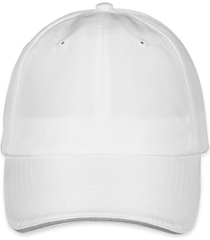 Core 365 Reflective Sandwich Performance Hat - White