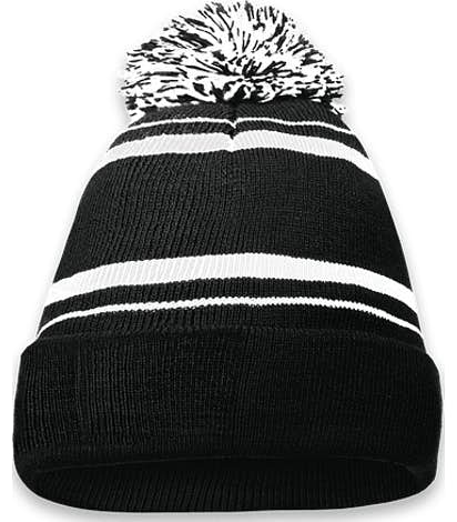 Holloway Homecoming Pom Pom Beanie - Black / White