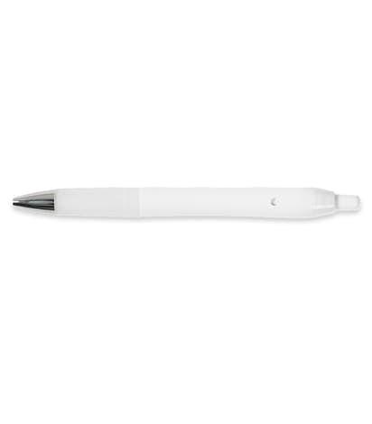 Bic Intensity Clic Gel Pen Black Ink Solid White