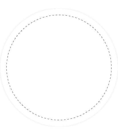 Full Color 2.5 in. Circle Roll Labels (500 per roll) - White