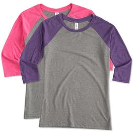District Women's Tri-Blend Raglan T-shirt