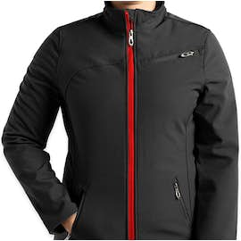 Spyder Women's Transport Soft Shell Jacket - Color: Black / Red