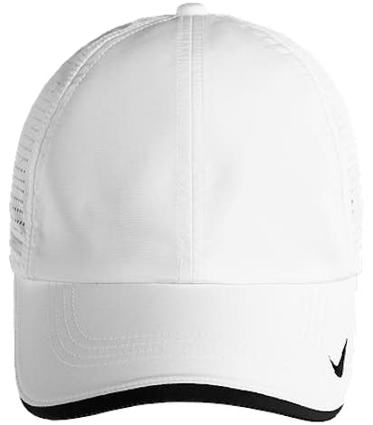 Nike Dri-FIT Swoosh Perforated Hat - White