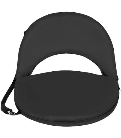 Portable Reclining Stadium Seat - Black