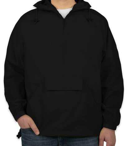 Ultra Club Hooded Packable Anorak - Black