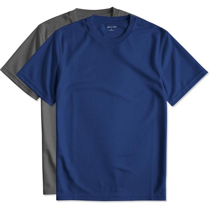 03f33734 Custom Sport-Tek Dri-Mesh Performance Shirt - Design Short Sleeve ...