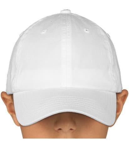 Canada - Valucap Youth Bio-Washed Hat - White