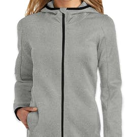 Ogio Endurance Women's Stealth Zip Hoodie - Color: Heather Grey