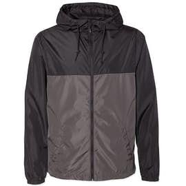 Independent Trading Colorblock Lightweight Full Zip Jacket
