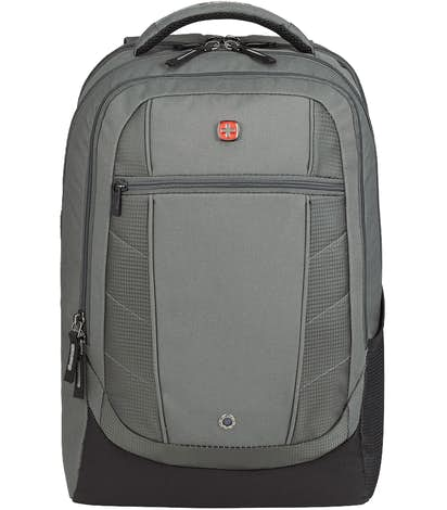 "Wenger Pro Check 17"" Computer Backpack - Gray"
