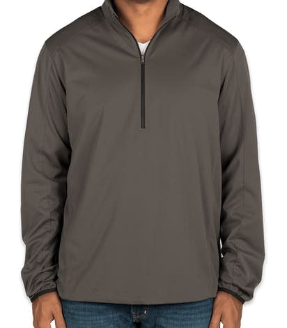 Port Authority Lightweight Active Quarter Zip Soft Shell Jacket - Grey Steel