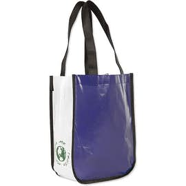 Small Laminated Shopper Tote