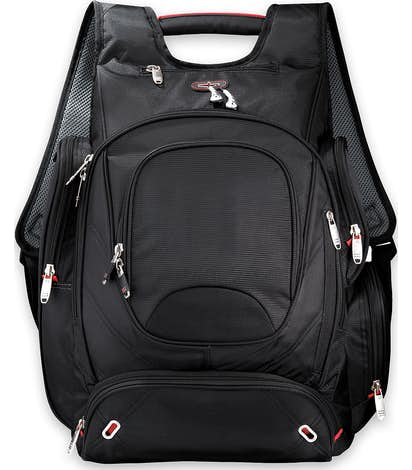 "elleven™ TSA 17"" Computer Backpack - Black"
