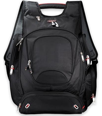 """elleven™ TSA 17"""" Computer Backpack - Black"""