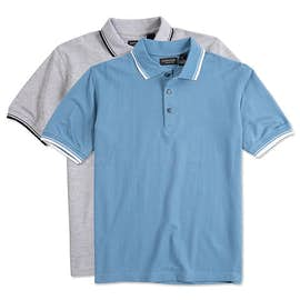 Ultra Club Lightweight Polo w/ Tipped Collar