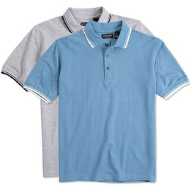 Ultra Club Lightweight Polo w/ Tipped Collar