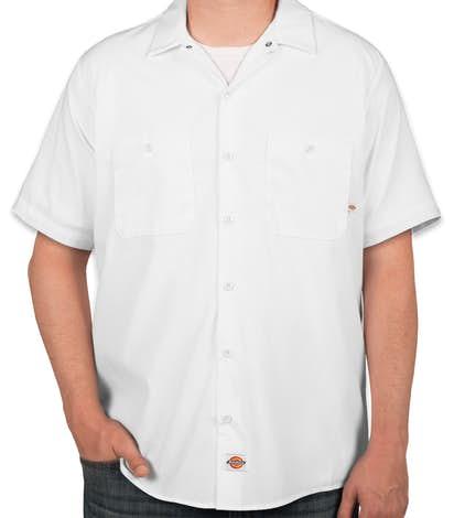8db81bab18 Custom Dickies Lightweight Industrial Work Shirt - Design Work ...