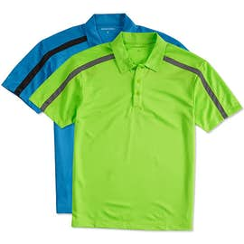 Port Authority Silk Touch Colorblock Performance Polo