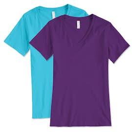 Bella + Canvas Women's V-Neck T-shirt