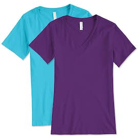 Bella + Canvas Women's V-Neck T-shirt