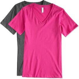 Canada - Bella + Canvas Women's V-Neck T-shirt