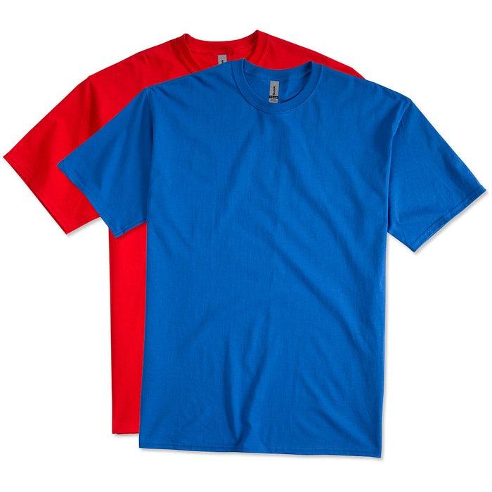 3b9d19ea8c7 Custom Gildan Ultra Cotton Tall T-shirt - Design Short Sleeve T ...