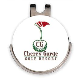 Golfers Ball Marker Hat Clip