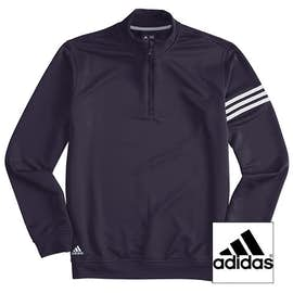 Adidas ClimaLite Quarter Zip Performance Pullover