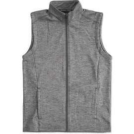 Devon & Jones Newbury Melange Fleece Vest