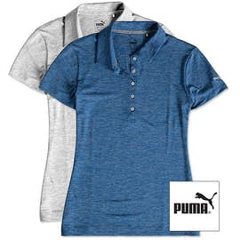 Puma Golf Women's Heather Performance Polo