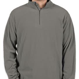 Columbia Crescent Valley Quarter Zip Microfleece Pullover - Color: Charcoal