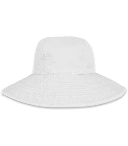 Design Adams Ladies Pigment Dyed Wide Brim Hats at CustomInk 2e79771b8ca6