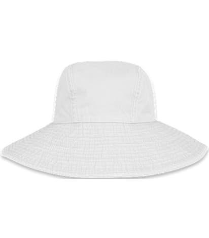 Adams Women's Pigment Dyed Wide Brim Hat - White