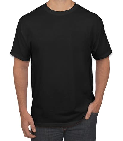 Canada - Jerzees 50/50 Pocket T-shirt - Black