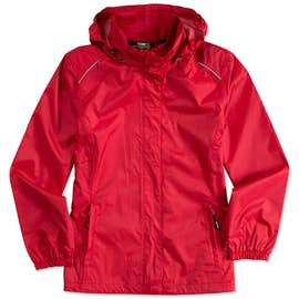 Core 365 Women's Waterproof Ripstop Jacket