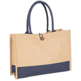 Large Jute Box Tote