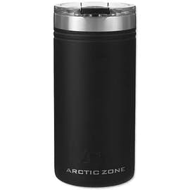 Arctic Zone 12 oz. Titan Thermal HP Stainless Steel Slim Can Insulator