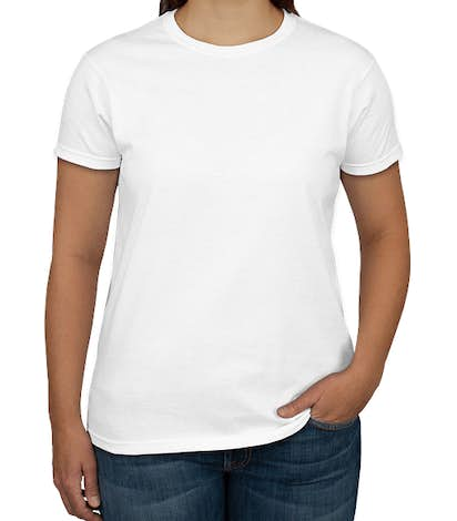 Canada - Gildan Ultra Cotton Women's T-shirt - White